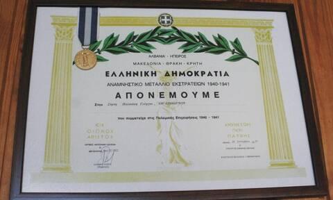 Κρήτη: Πέθανε ο τελευταίος επιζών πολεμιστής του Β' Παγκοσμίου Πολέμου (pics)