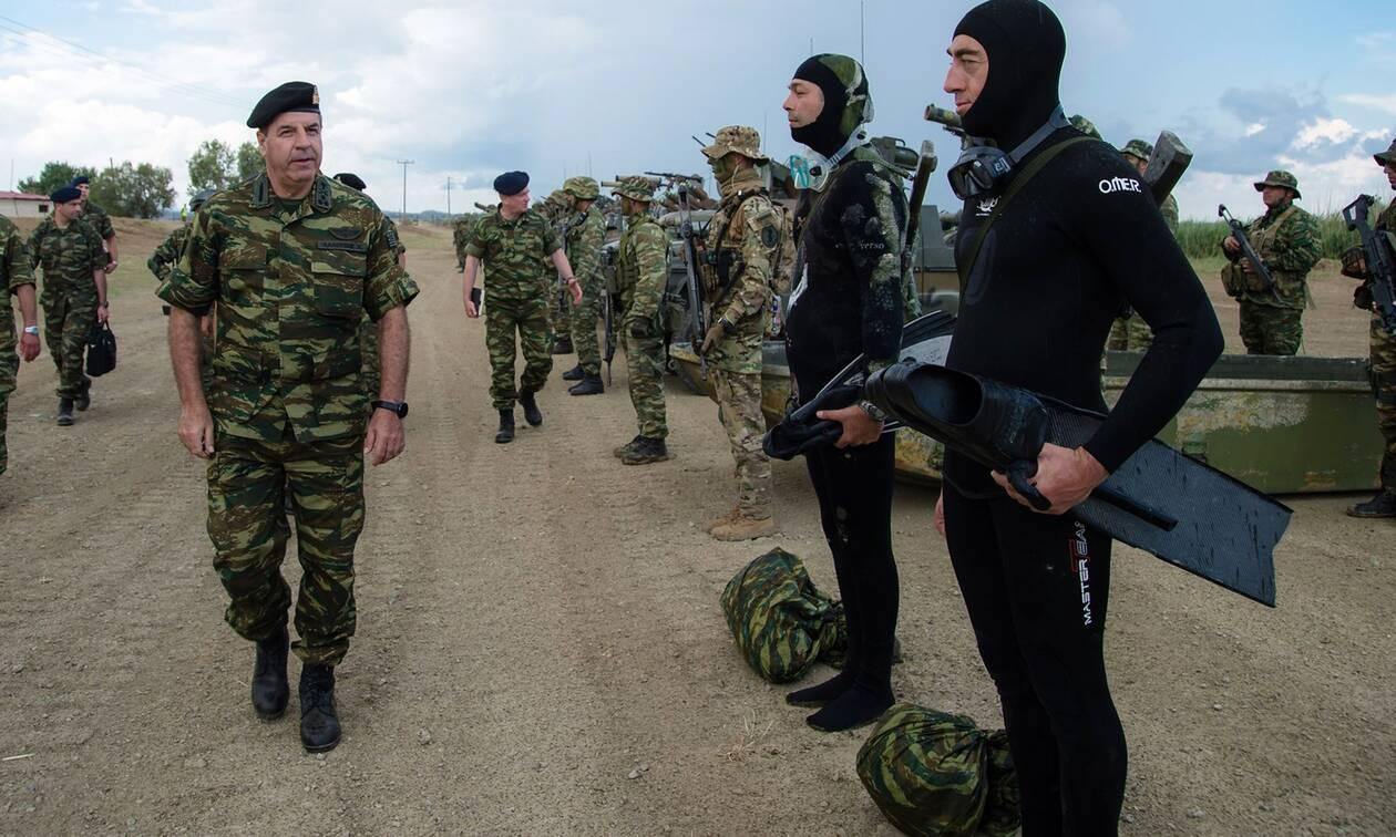Στρατός Ξηράς:Έτσι «θωράκισε» το Αιγαίο - Ο οπλισμός, τα πυρομαχικά και ο ρόλος των Ειδικών Δυνάμεων