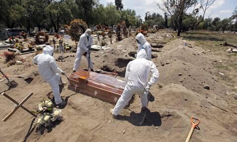 Κορονοϊός στο Μεξικό: 266 νεκροί και 4.767 κρούσματα μόλυνσης σε 24 ώρες