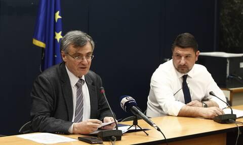 Κορονοϊός: Έκτακτη ενημέρωση Τσιόδρα - Χαρδαλιά για την πανδημία στη χώρα μας
