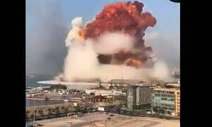 Βηρυτός: Εκρήξεις στο λιμάνι  - Ταρακουνήθηκε ολόκληρη η πόλη