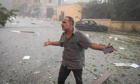 Βηρυτός όπως…. Χιροσίμα! Εικόνες Αποκάλυψης μετά τις εκρήξεις – Τουλάχιστον 10 νεκροί