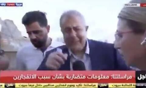 Βηρυτός: «Μας επιτέθηκαν» - Ο κυβερνήτης της πόλης κλαίει για την έκρηξη