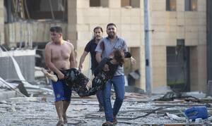 Βηρυτός - Εκρήξεις: Η μισή πόλη έχει υποστεί ζημιές