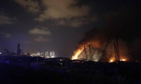 Βηρυτός - LIVE: Ισοπεδώθηκε η πόλη - Δεκάδες νεκροί από τις φονικές εκρήξεις σε αποθήκες εκρηκτικών