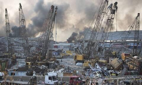 Βηρυτός: Βιβλική καταστροφή! Σοκάρει η εικόνα πριν και μετά τη φονική έκρηξη