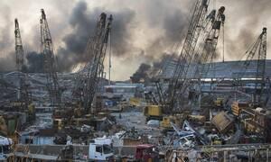 Εκρήξεις στη Βηρυτό: Επλήγη πολεμικό πλοίο της δύναμης του ΟΗΕ στο Λίβανο