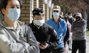 Κορονοϊός στις ΗΠΑ: Πάνω από 1.300 θάνατοι - Σχεδόν 54.000 κρούσματα σε 24 ώρες
