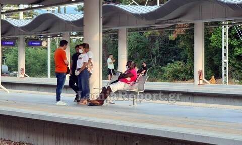 Λαμία: Έδιωξαν μετανάστη από τρένο γιατί θεώρησαν ότι έχει κορονοϊό