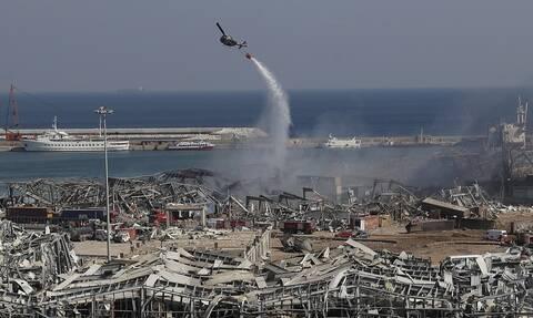 Εκρήξεις στη Βηρυτό: Εικόνες από δορυφόρο πριν και μετά την καταστροφή