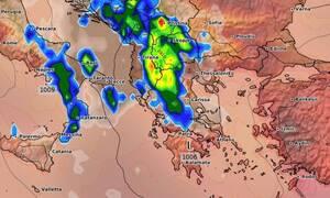 Καιρός: Καρέ - καρέ οι βροχοπτώσεις την Πέμπτη και την Παρασκευή (photos)