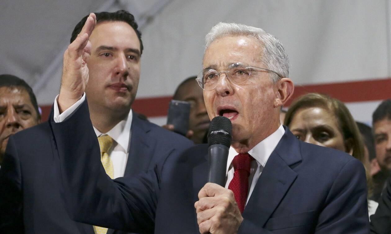 Θετικός στον κορονοϊό ο πρώην πρόεδρος της Κολομβίας