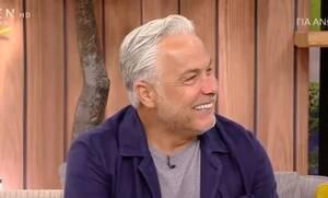 Χάρης Χριστόπουλος: «Ζω την πιο ευτυχισμένη περίοδο της ζωής μου» (Video)