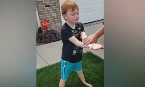 Αποταμίευε χρήματα για 18 μήνες - Δείτε τι αγόρασε ο 6χρονος