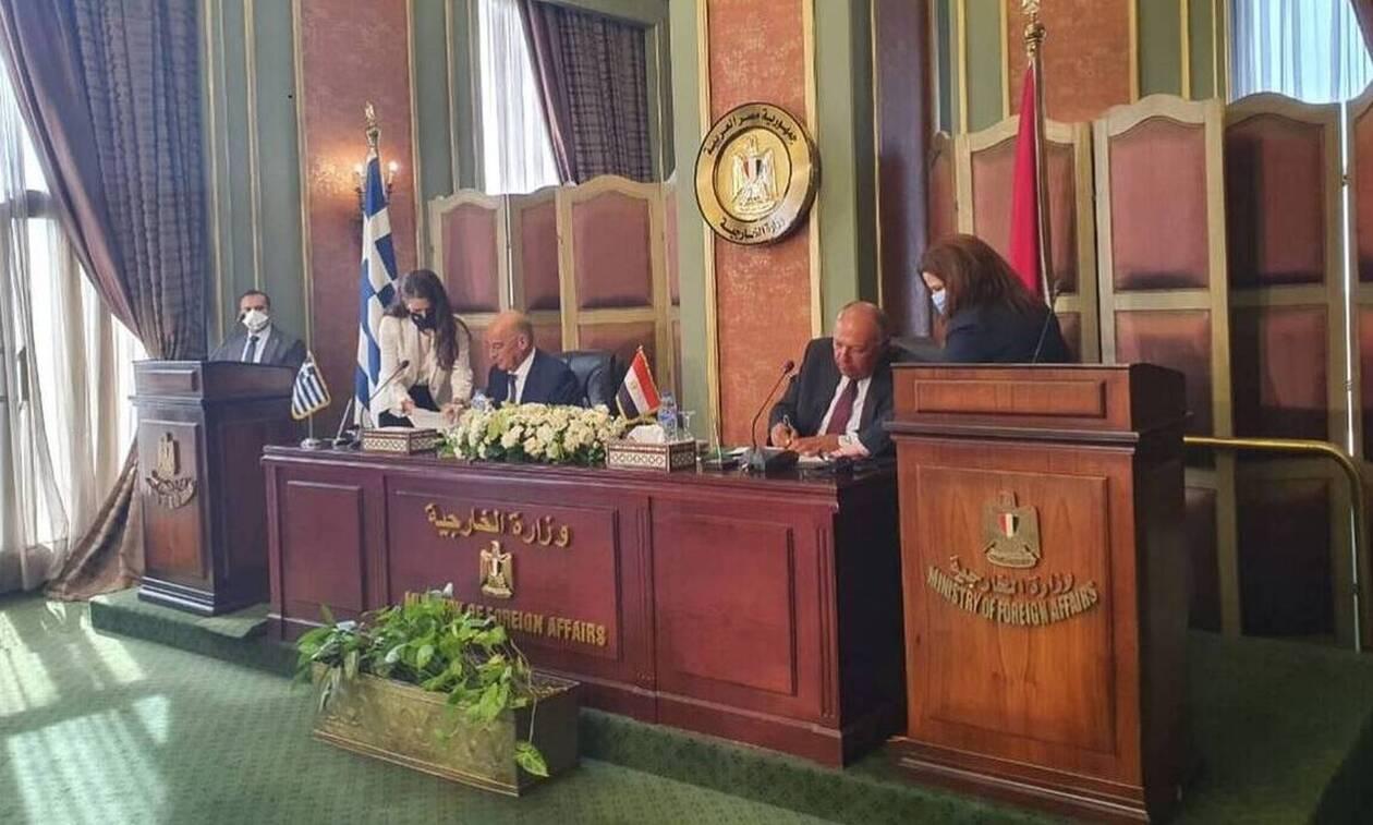 Συμφωνία για ΑΟΖ Ελλάδας - Αιγύπτου: Εθνική επιτυχία! Ακυρο το τουρκολιβυκό μνημόνιο