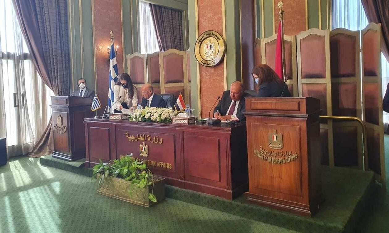 Δένδιας για ΑΟΖ με Αίγυπτο: Το τουρκολιβυκό μνημόνιο καταλήγει στον κάλαθο των αχρήστων