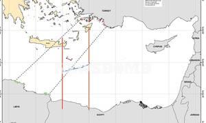 ΑΟΖ Ελλάδας - Αιγύπτου: Αυτός είναι ο χάρτης της συμφωνίας -Έτσι ακυρώνεται το τουρκολιβυκό μνημόνιο