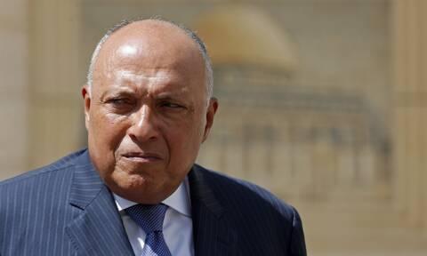 Σούκρι για ΑΟΖ Ελλάδας - Αιγύπτου: Να αξιοποιήσουμε στο μέγιστο τους διαθέσιμους πόρους