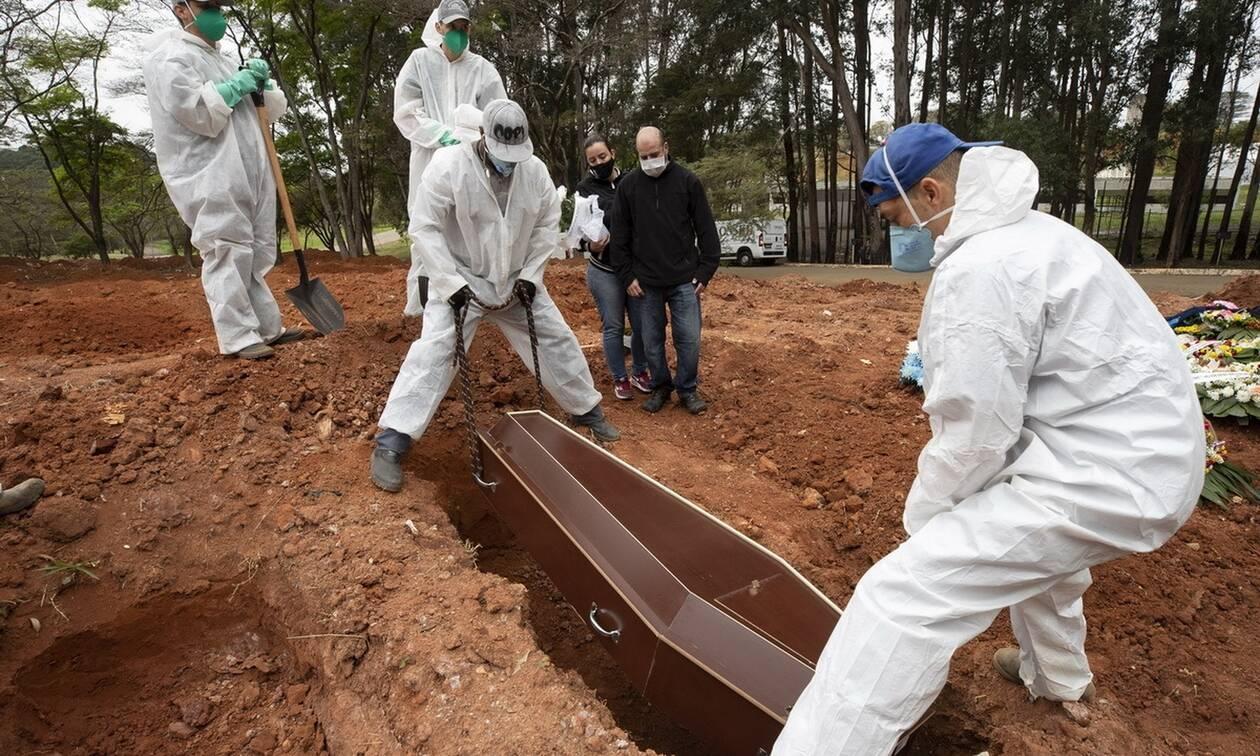 Κορονοϊός στη Βραζιλία: 1.237 νεκροί και 53.139 κρούσματα σε 24 ώρες