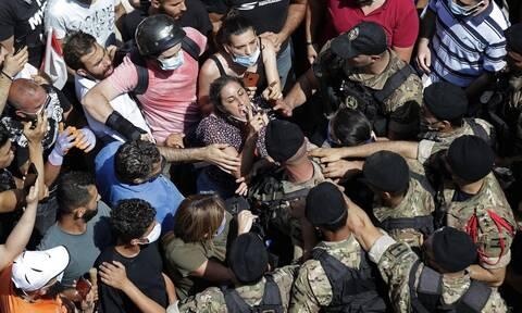 Λαϊκή οργή στο Λίβανο: Δακρυγόνα εναντίον αντικυβερνητικών διαδηλωτών στη Βηρυτό
