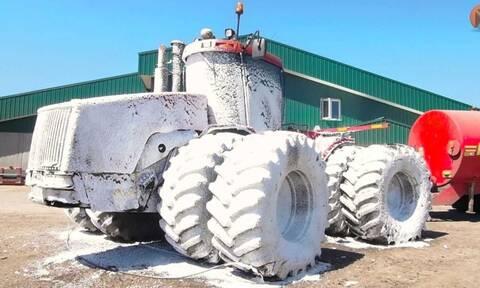 Δείτε πως πλένονται τα μεγαλύτερα οχήματα στον κόσμο!