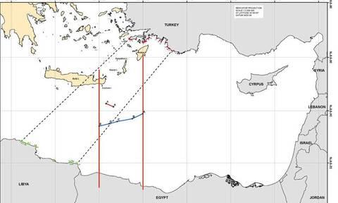 ΑΟΖ: Η Ελλάδα με την συμφωνία με την Αίγυπτο ακυρώνει τα σχέδια της Τουρκίας