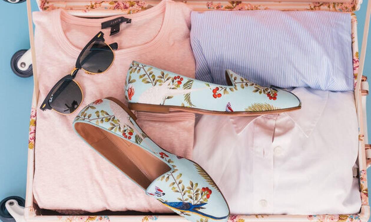 Πώς να ετοιμάσεις τη βαλίτσα των διακοπών