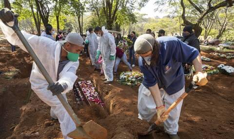Κορονοϊός - Βραζιλία: 100.000 νεκροί στη Βραζιλία - «Αδιαφορεί» ο Μπολσονάρο