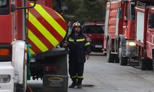 Σε εξέλιξη η φωτιά στη Μάνη - Δεν κινδυνεύουν οικισμοί