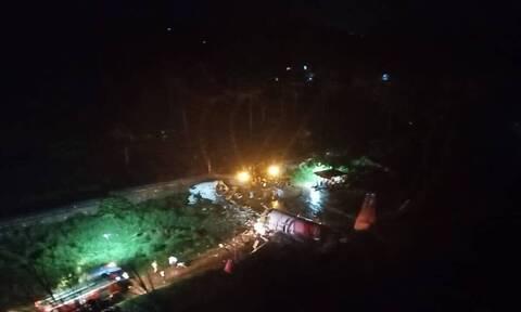 Αεροπορικό δυστύχημα στην Ινδία: Εικόνες σοκ από τον τόπο της τραγωδία (pics&vid)