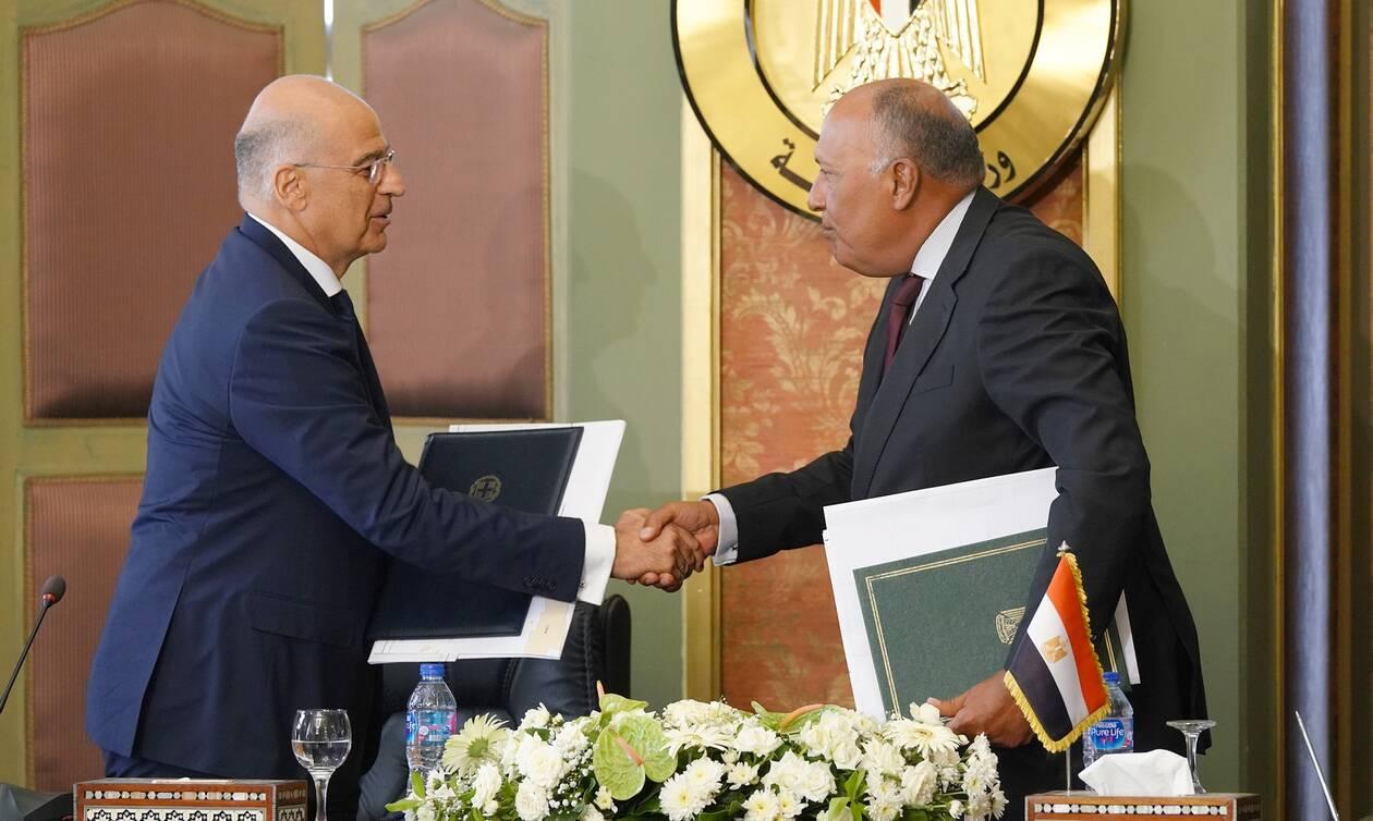 Αυτή είναι η συμφωνία Ελλάδας - Αιγύπτου για την ΑΟΖ