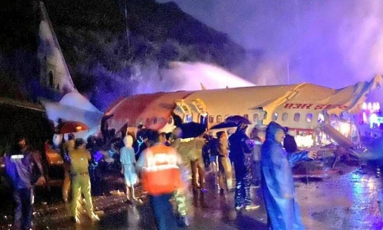 Αεροπορική τραγωδία στην Ινδία: 16 νεκροί, 35 τραυματίες