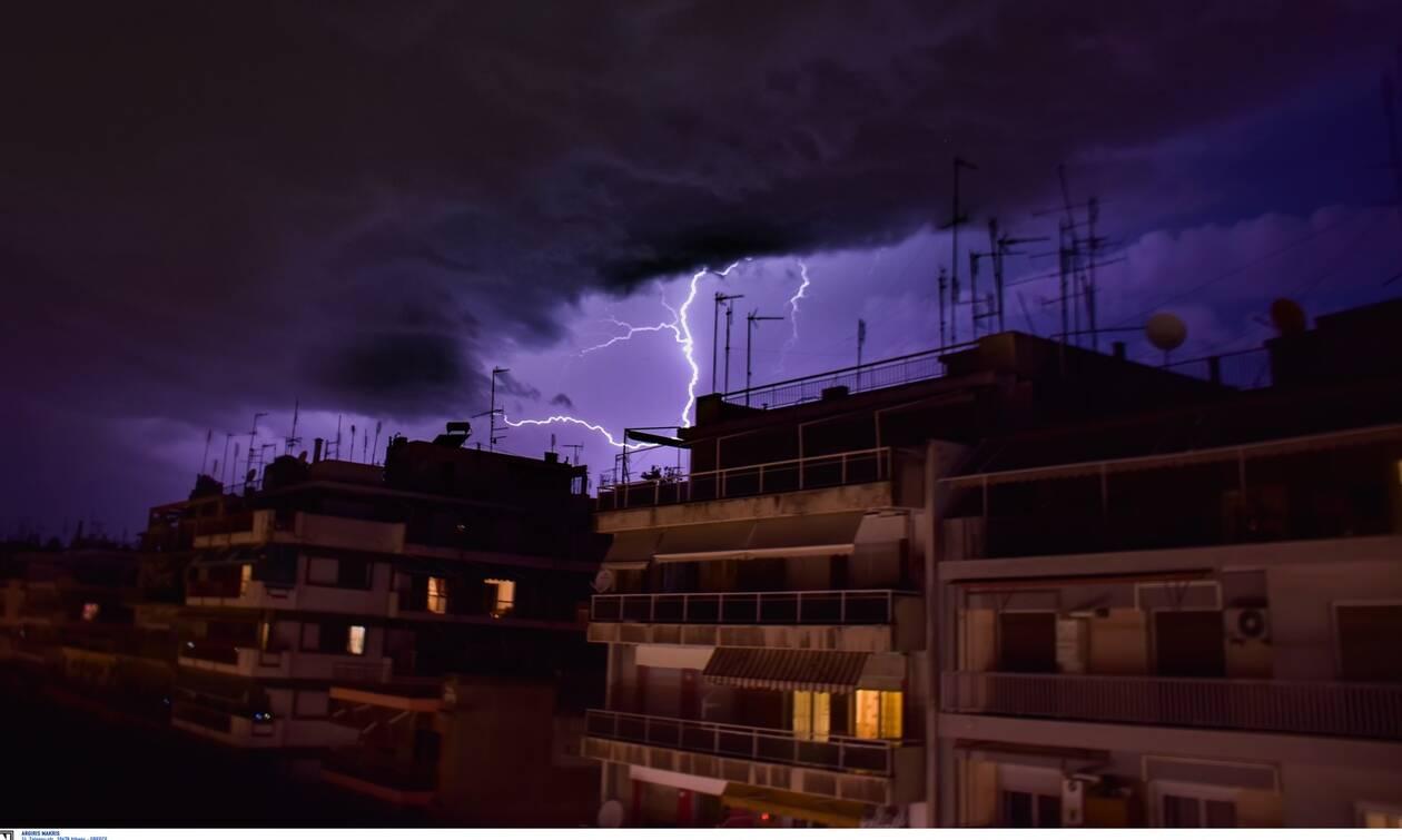 Κακοκαιρία: Η «Θάλεια» πάνω από την Ελλάδα - Η πιο δύσκολη μέρα το Σάββατο