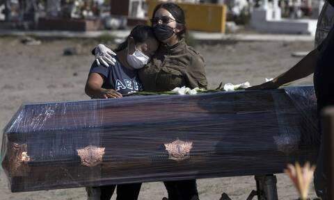 Κορονοϊός στο Μεξικό: 794 θάνατοι και 6.717 νέα κρούσματα σε 24 ώρες