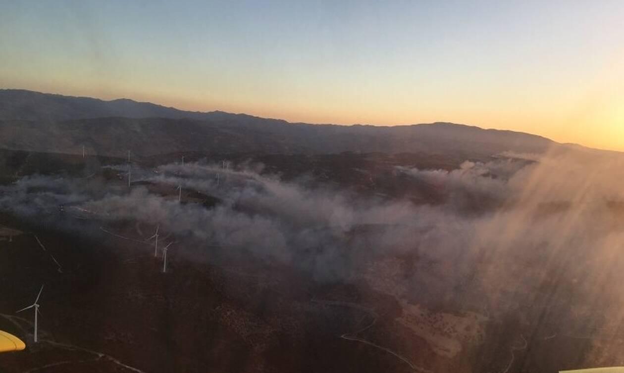 Κύπρος: Μεγάλη πυρκαγιά στην περιοχή Ορείτες - Εκκενώθηκε χωριό (pics)