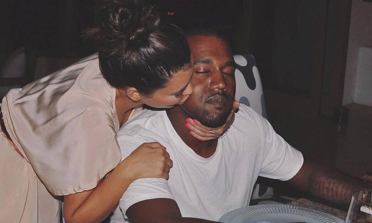 Το πρώτο βίντεο του Kanye από τις διακοπές με την Kim είναι πολύ περίεργο