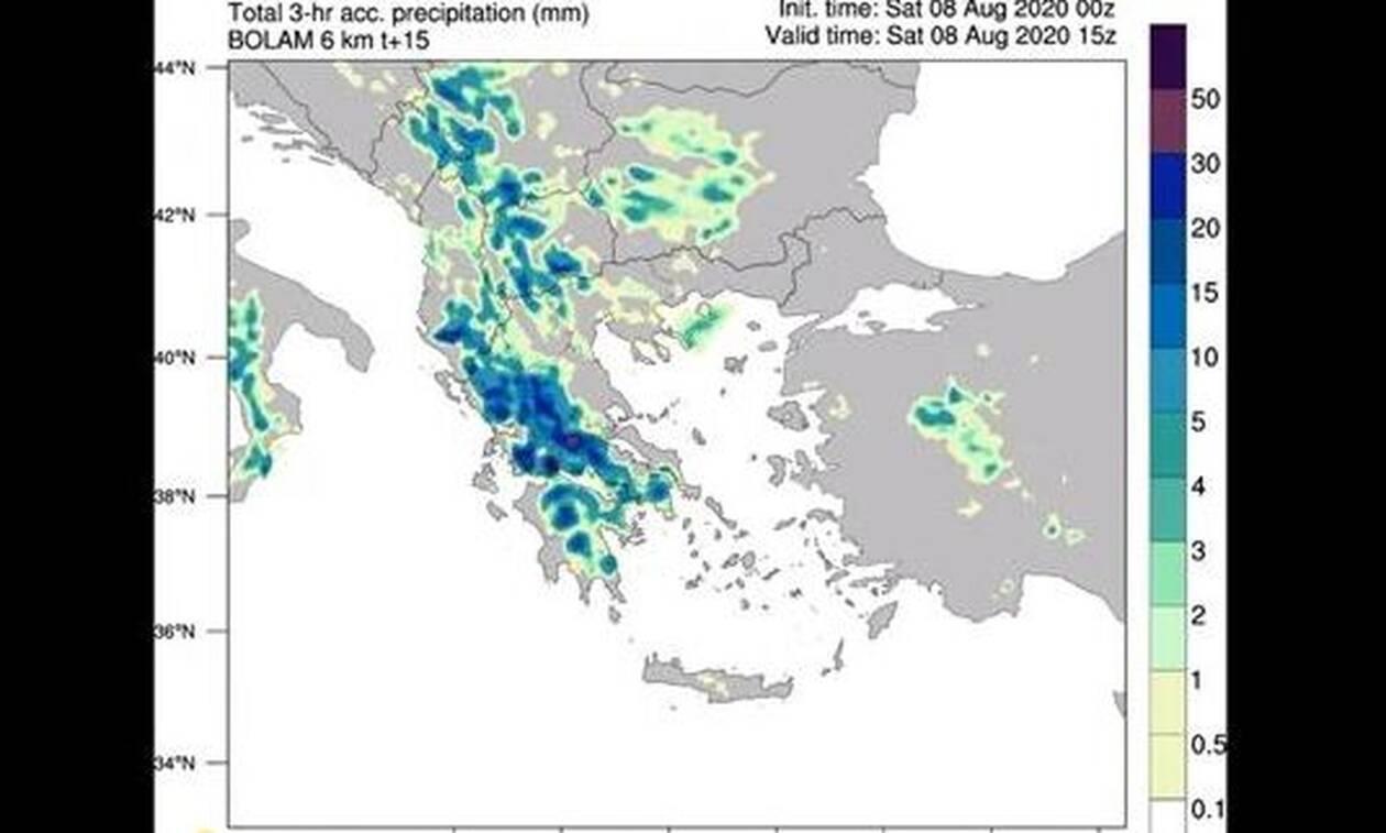 Καιρός: Ισχυρά φαινόμενα στην Αττική τις επόμενες ώρες - Πότε υποχωρεί η κακοκαιρία