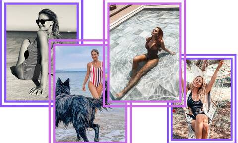 Οι Ελληνίδες μαμάδες της showbiz που φόρεσαν ολόσωμο μαγιό στην παραλία