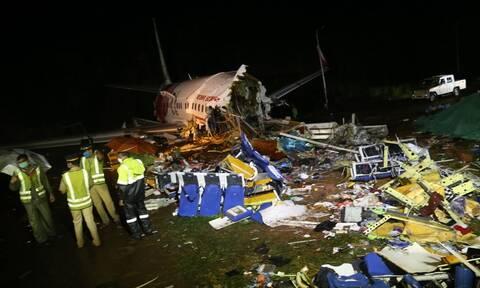 Αεροπορική τραγωδία στην Ινδία: Ανακτήθηκαν τα «μαύρα κουτιά» του αεροσκάφους