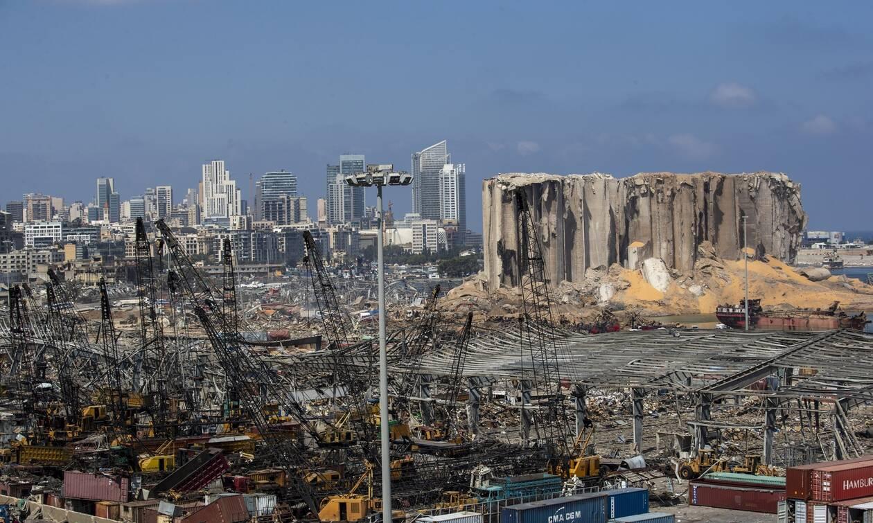 Νέο βίντεο δείχνει τη στιγμή της έκρηξης στη Βηρυτό σε slow motion