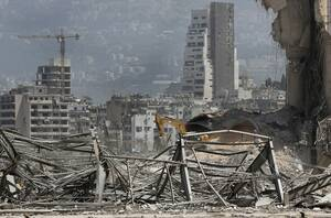 Βηρυτός: Δορυφορικός χάρτης της NASA αποκαλύπτει το μέγεθος της καταστροφής