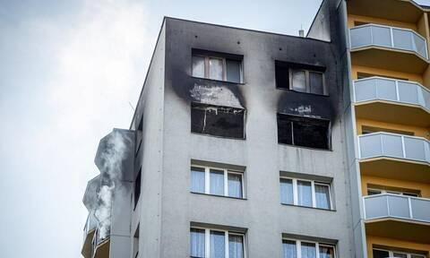 Τσεχία: Ένδεκα νεκροί από πυρκαγιά σε πολυκατοικία, ανάμεσά τους και παιδιά