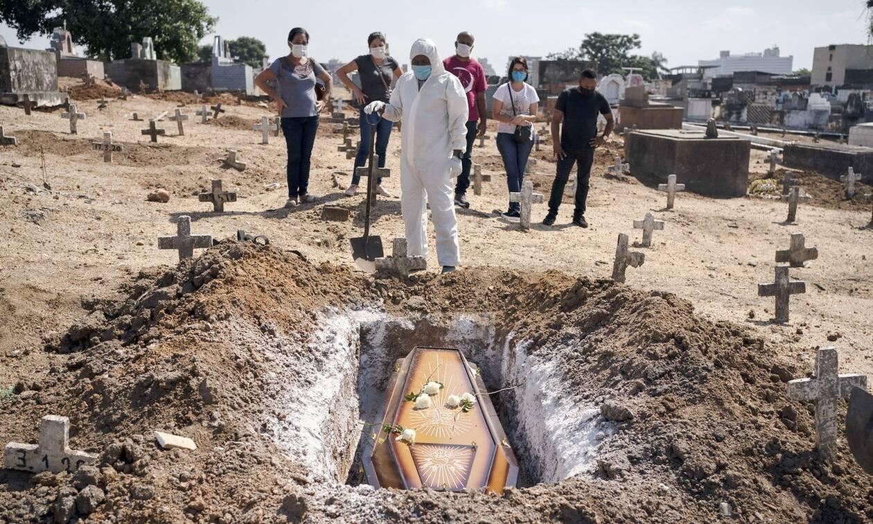 Κορονοϊός στη Βραζιλία: Ξεπέρασαν τους 100.000 οι νεκροί από COVID-19
