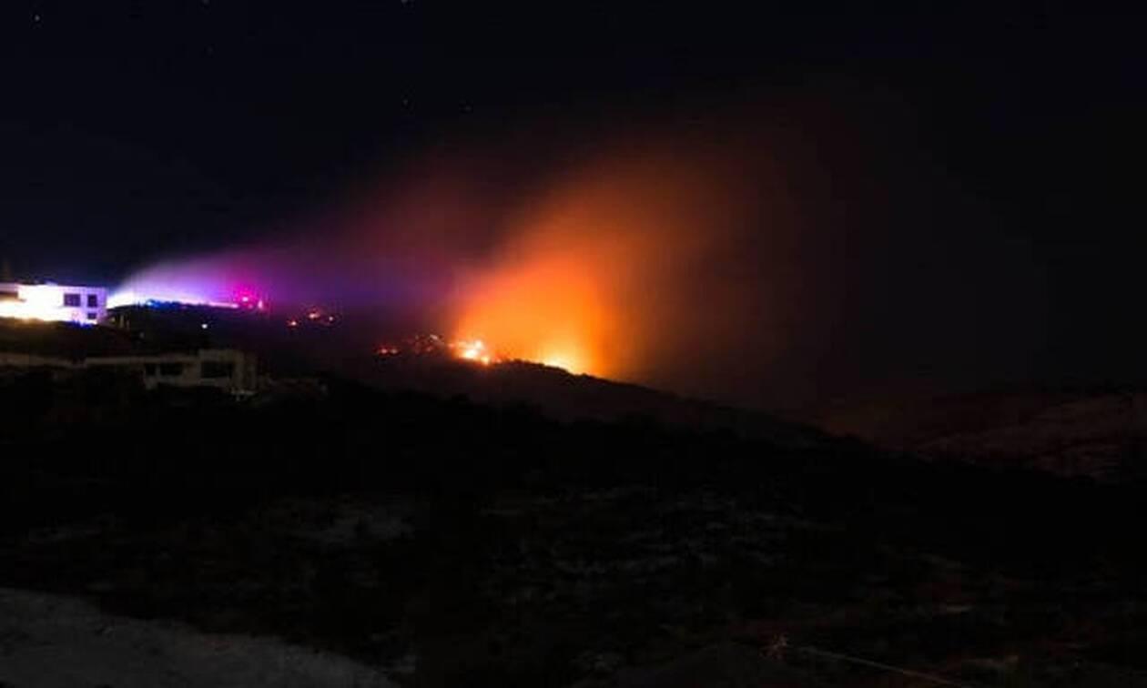 Κύπρος: Πυρκαγιά ξέσπασε τα μεσάνυχτα στη Λεμεσό - Εκκενώθηκαν σπίτια