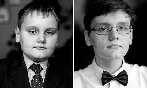 Δείτε πόσο αλλάζουν τα παιδιά με τα χρόνια μέσα από ασπρόμαυρα πορτρέτα