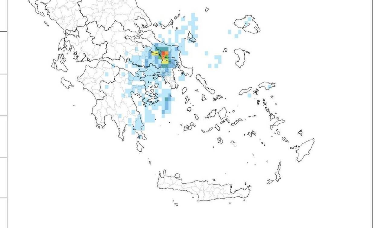 Καιρός: Τριακόσιοι τόνοι νερoύ ανά στρέμμα έπεσαν στην Εύβοια (photos)