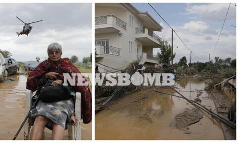 Αυτοψία Newsbomb.gr: Εικόνες Αποκάλυψης στην Εύβοια – Πέντε νεκροί από την θεομηνία