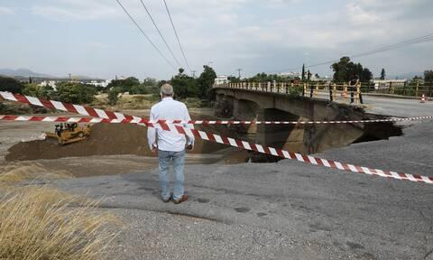 Φονική κακοκαιρία στην Εύβοια: Ποιοι δρόμοι είναι κλειστοί