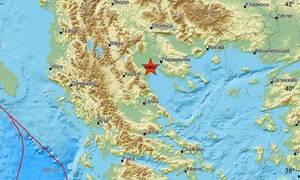 Σεισμός ΤΩΡΑ κοντά στο Αιγίνιο - Αισθητός και στη Θεσσαλονίκη