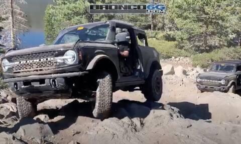 To Ford Bronco στο πολύ σκληρό Rubicon Trail, το… Nürburgring των τετρακίνητων